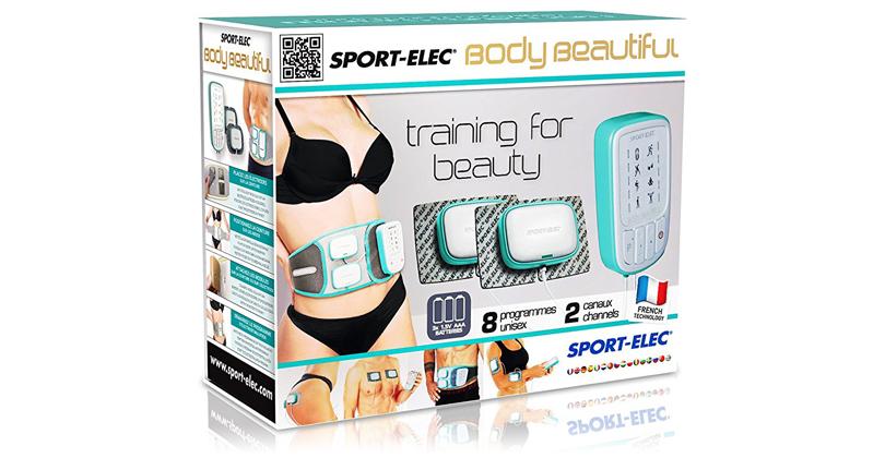 sport elec body beautiful electrostimulateur. Black Bedroom Furniture Sets. Home Design Ideas